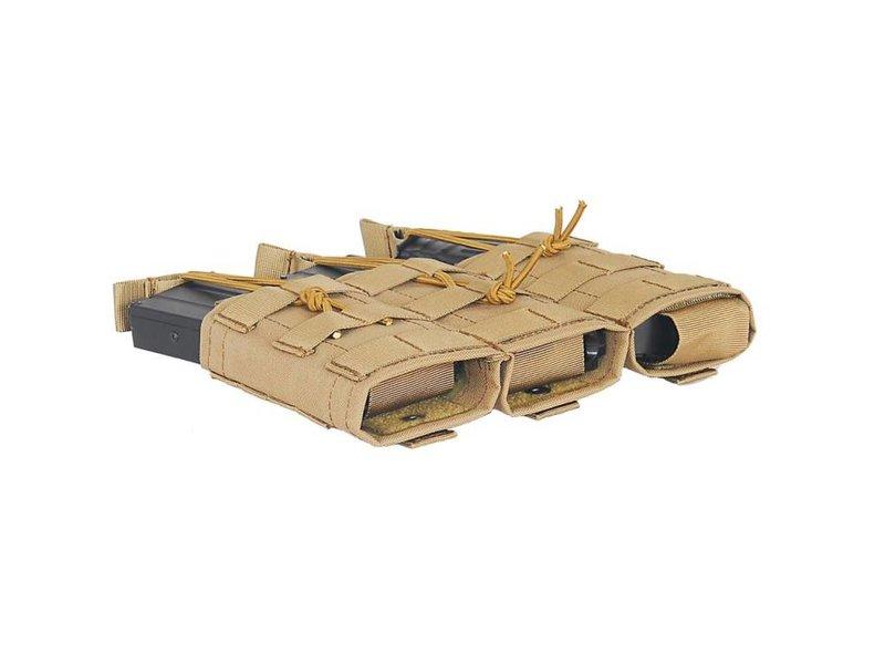 Lancer Tactical Lancer Tactical Triple Magazine Pouch w/ Variable Depth Adjustment
