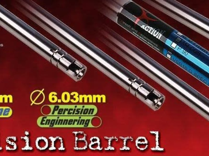 Action Army Action Army 485mm Javelin M24 6.01 TB Barrel