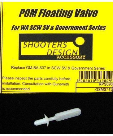 Shooters Design Shooters Design SCW floating Valve