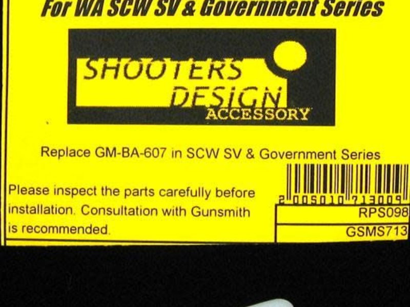 Shooters Design Shooters Design SCW floating Valve