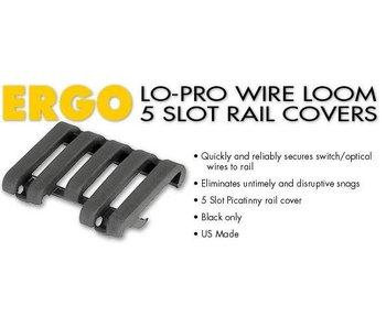 Ergo LoPro Wire Rail Cover