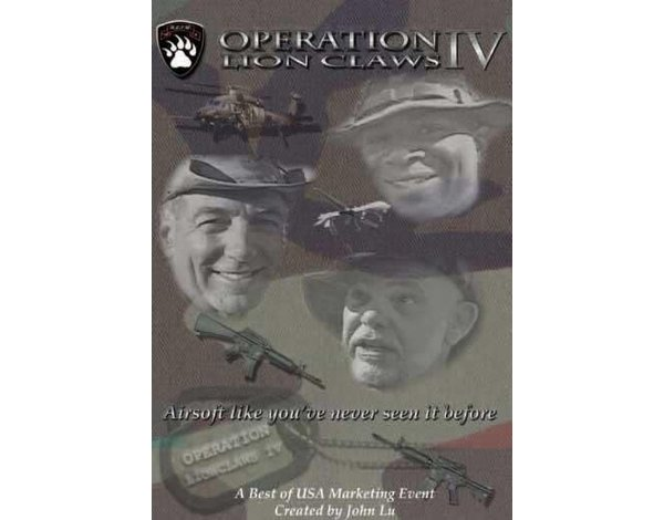 Best of USA Best of USA Operation Lion Claws DVD
