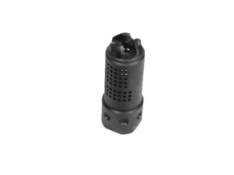 Castellan Knight QDC Muzzle Brake 14mm CCW Black