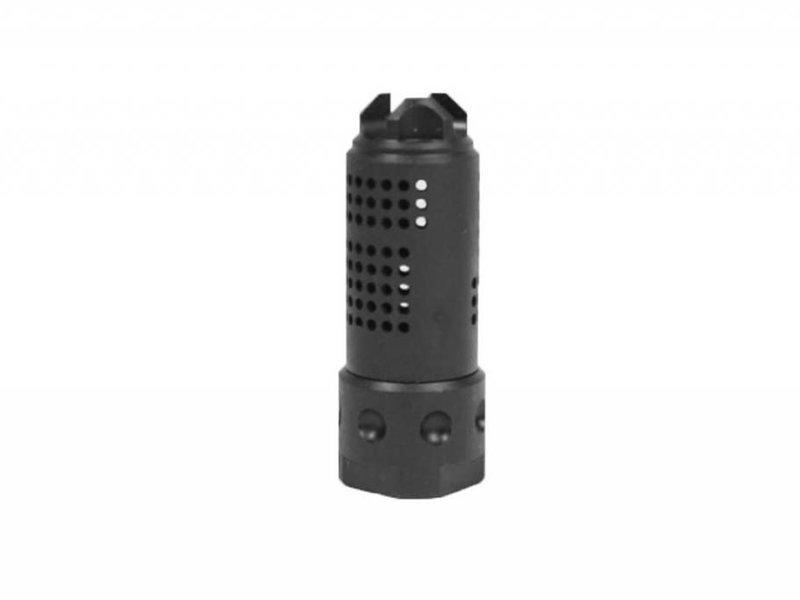 Castellan Knight QDC Muzzle Brake 14mm CCW Black