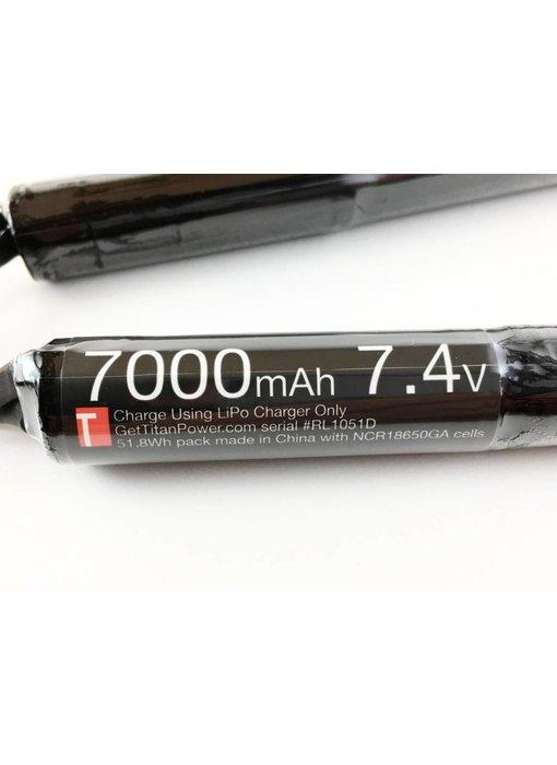 Titan Power 7.4v 7000mah Li-Ion Nunchuck T