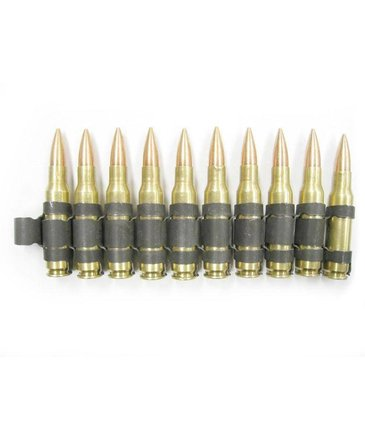 Airsoft Extreme 7.62mm linked dummy ammo (10rds)