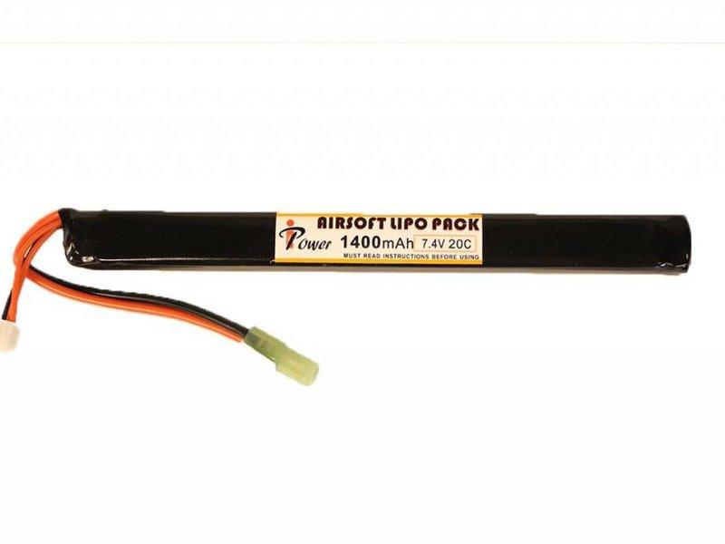 iPower iPower 7.4V 1400mah 20C AK Stick