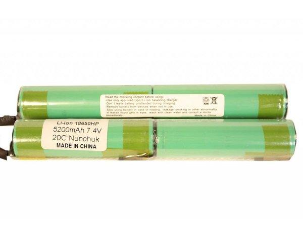 iPower iPower 7.4v 5200mAh  2x Nunchuk Li-Ion LiPo Battery Tamiya