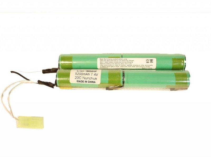 iPower iPower 7.4V 5200mah Li-Ion Nunchuk 2x