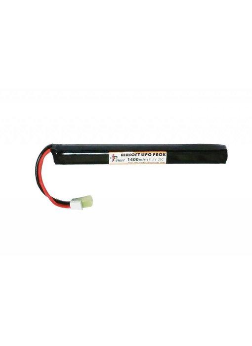 iPower 11.1V 1400mah 20C LiPo Battery AK Stick