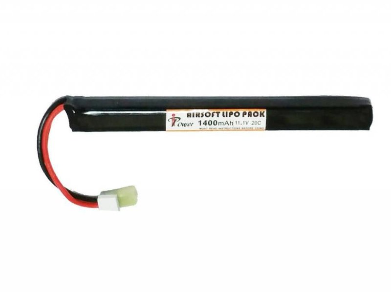iPower iPower 11.1v 1400mah 20c Lithium Polymer Battery AK