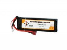 iPower iPower 11.1V 3600mah 20C Mini LiPo Battery Deans
