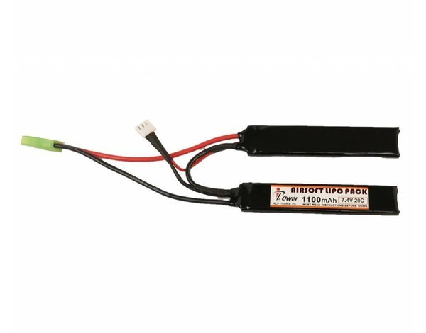 iPower iPower 7.4v 1100mah 20c Lithium Polymer Nunchuck Battery