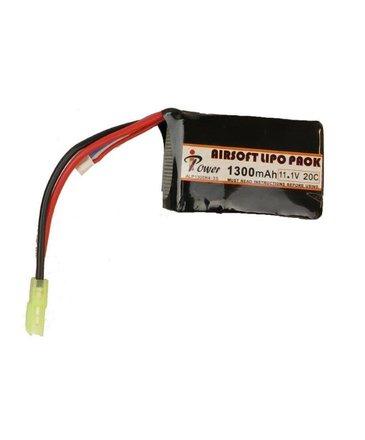 iPower iPower 11.1v 1300mAh 20C PEQ LiPo Battery Tamiya