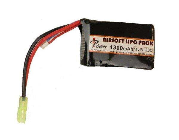 iPower Power 11.1v 1300mAh 20c LiPo PEQ Style Battery