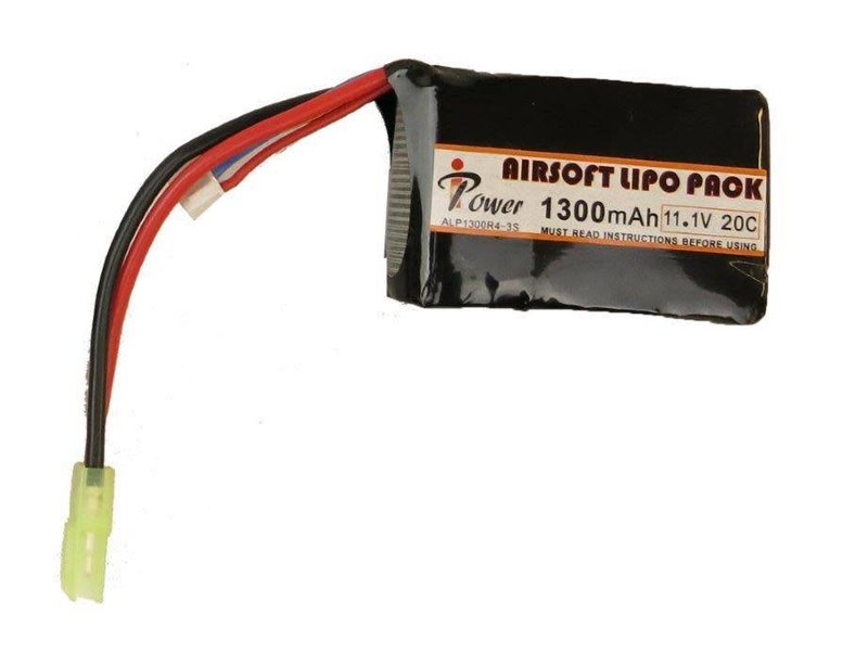 iPower Power 11.1v 1300mAh 20c LiPo PEQ Style Battery