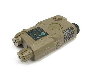 King Arms AN/PEQ15 Battery Case Dark Earth