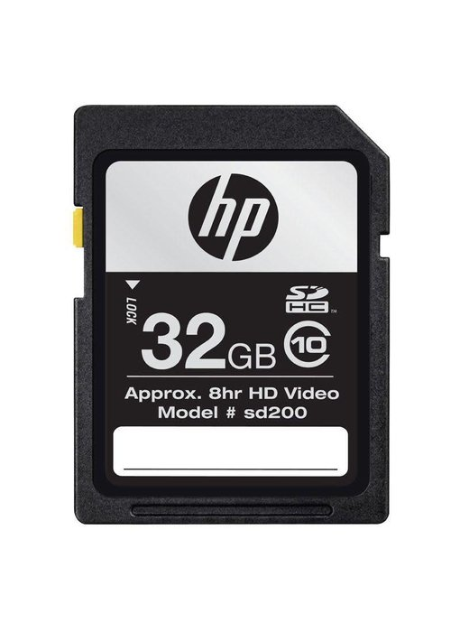 AEX HP 32GB SD Card Class 10