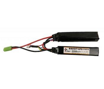 iPower 11.1V 2200mah 20C Nunchuck 2x