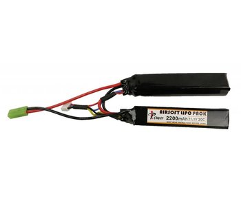 iPower 11.1V 2200mah 20C LiPo Battery 2x Nunchuck