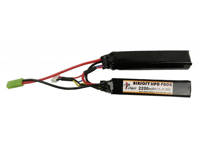 iPower iPower 11.1V 2200mah 20C Nunchuck 2x