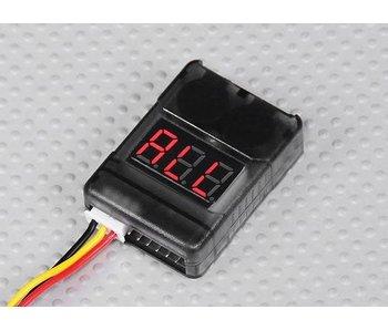 HBK 2-8S Lipo Cell Checker and Alarm