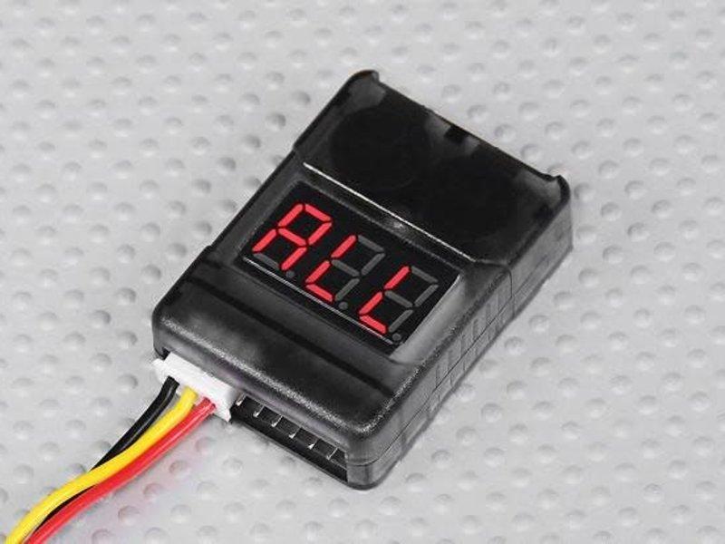 Hobby King HBK 2-8S Lipo Cell Checker and Alarm