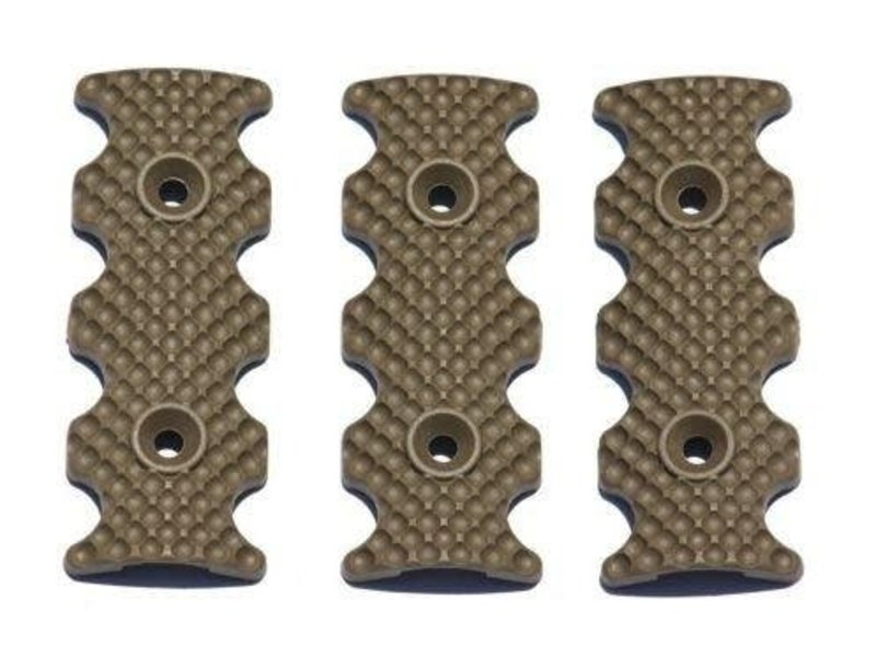 PTS PTS Centurion Arms CMR Rail Cover 3pk Flat Dark Earth