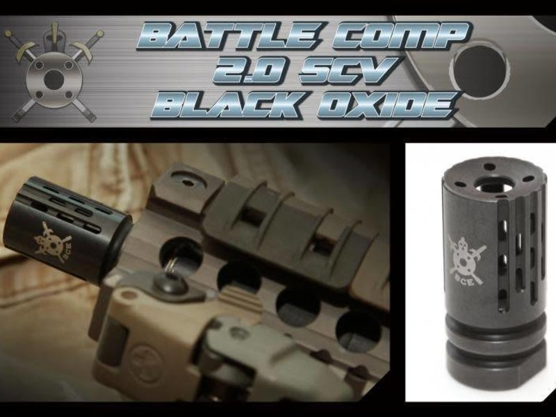 PTS PTS BattleComp 2.0 Flash Hider - CW