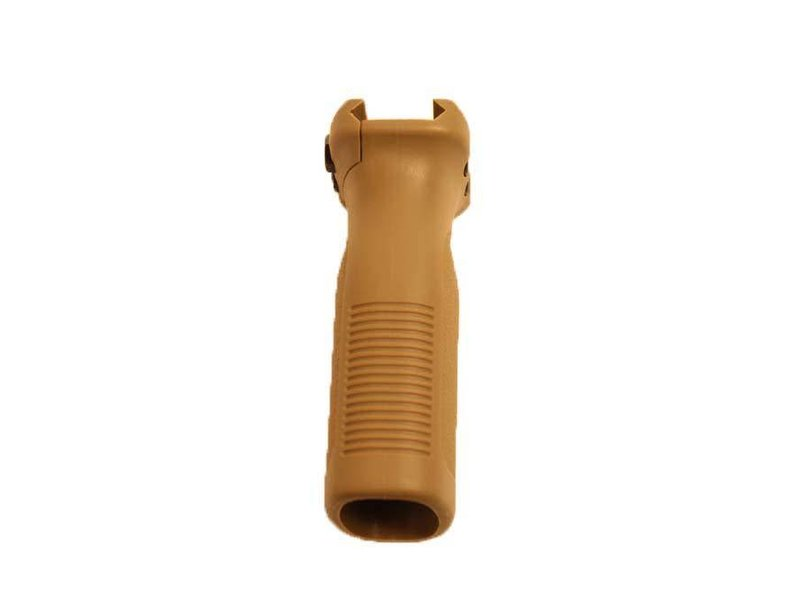 Castellan Polymer Picatinny Rail Mounted Vertical Grip Flat Dark Earth