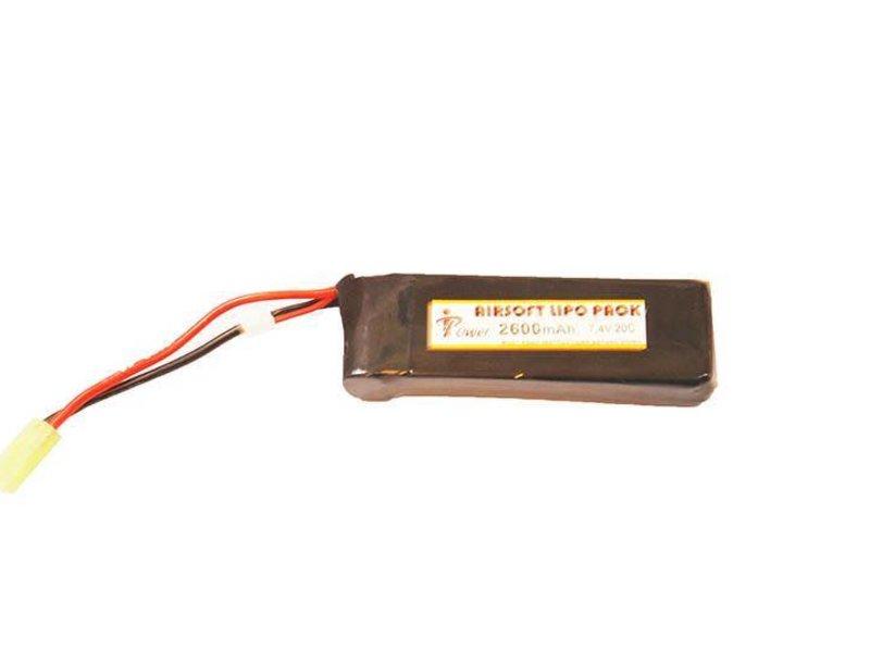 iPower iPower 7.4v 2600mah 20C LiPo Mini Type