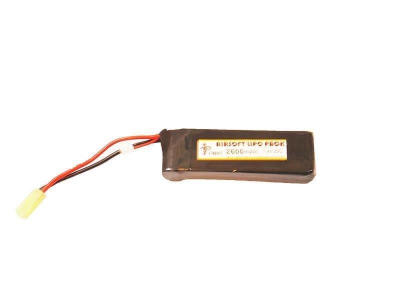 iPower iPower 7.4v 2600mAh 20C Mini LiPo Battery Tamiya