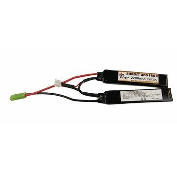 iPower iPower 7.4v 2200mAh Nunchuck LiPo Battery Tamiya