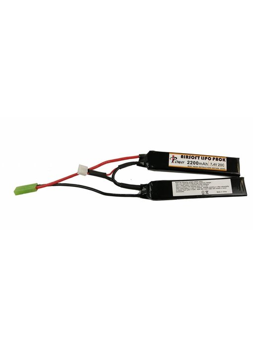 iPower 7.4V 2200mah 20C LiPo Nunchuck