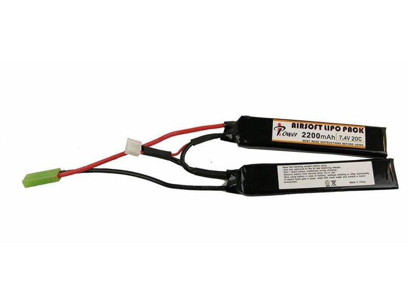 iPower iPower 7.4V 2200mah 20C LiPo Nunchuck