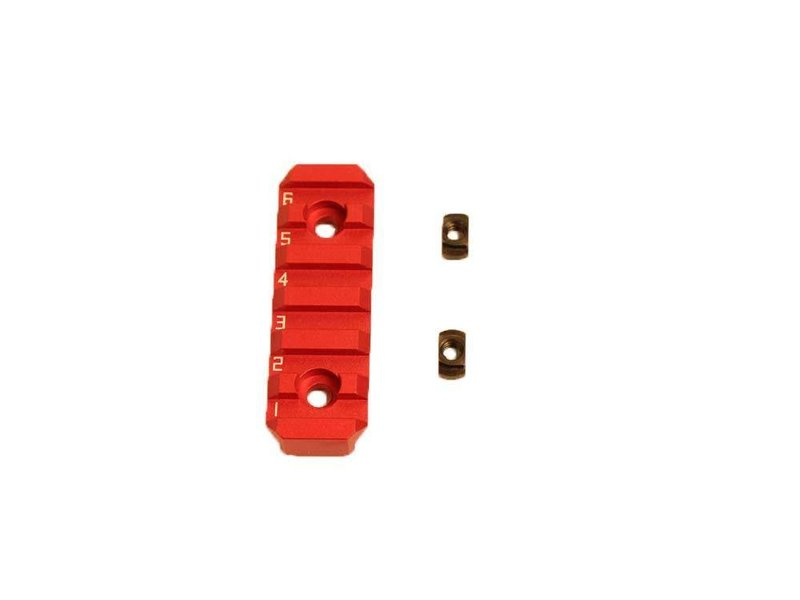 Castellan CNC 6 Slot Keymod/M-LOK