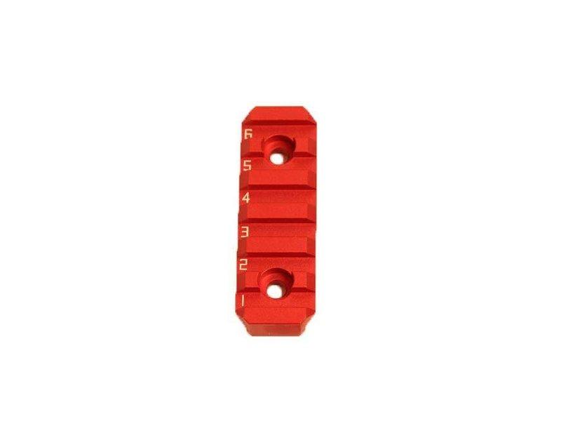 Castellan CNC Aluminum Hybrid Keymod/M-Lok 6-Slot Picatinny Adaptor