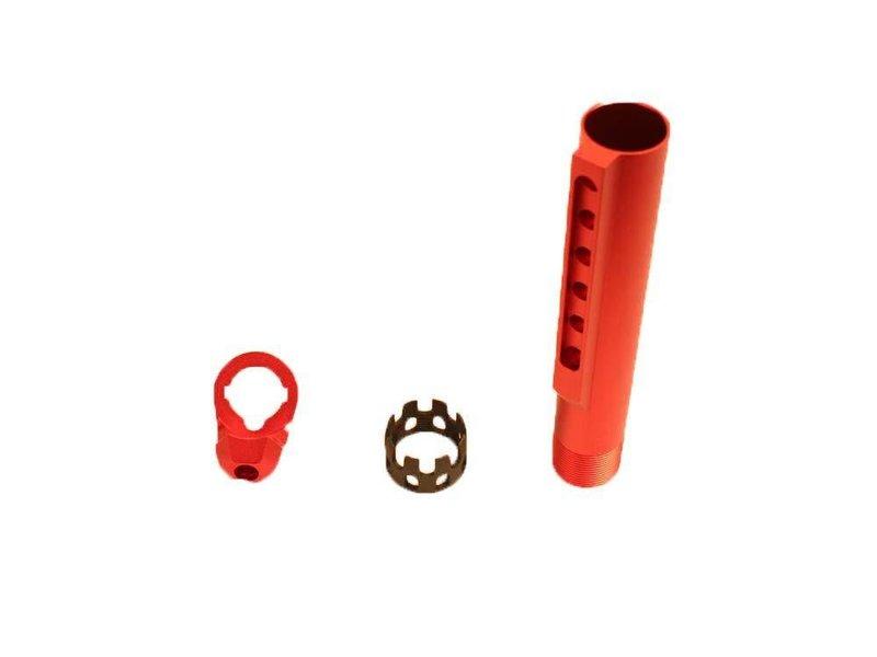 Castle buffer tube