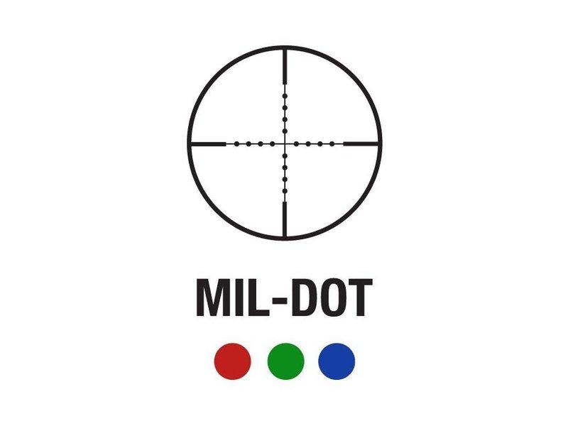 Aimsports Aimsports 1.5-4X30 dual illum CQB MilDot