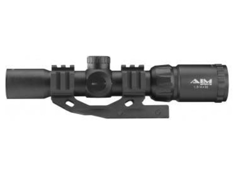 Aimsports Aimsports 1.5-4x30  Dual Illuminated CQB Scope With Mount