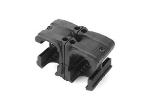 Airsoft Extreme AEX MP7 Double Magazine ClipT749 Black