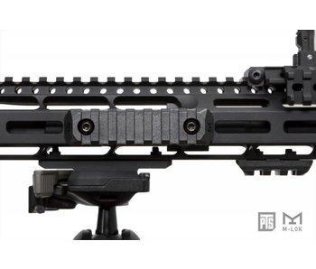 PTS Enhanced MLOK Rail 5 Slot Black