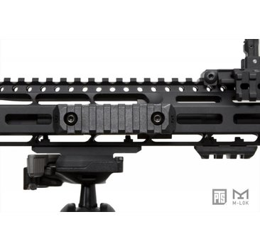 PTS PTS Enhanced MLOK Rail 5 Slot Black