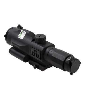 NcStar NcStar 3-9x40 GEN3 SRT Rubber Compact Scope with Green Laser