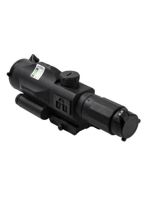 NC Star 3-9x40 GEN3 SRT Rubber Compact Scope with Green Laser