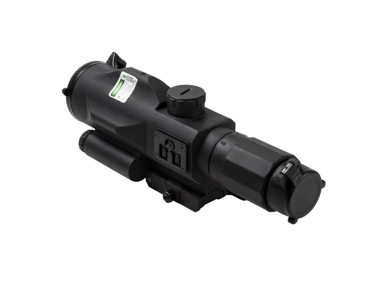 NC Star NC Star 3-9x40 GEN3 SRT Rubber Compact Scope with Green Laser