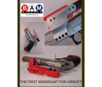 BAM Airsoft Side Pistol Mount