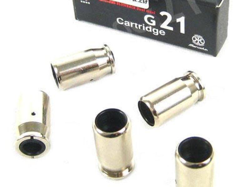 Marushin Marushin G21 Aluminum shells, 5 pk
