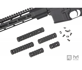 PTS Enhanced MLOK Rail 9 Slot Black