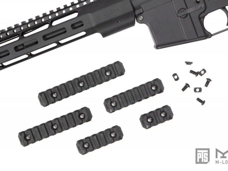 PTS PTS Enhanced MLOK Rail 9 Slot Black